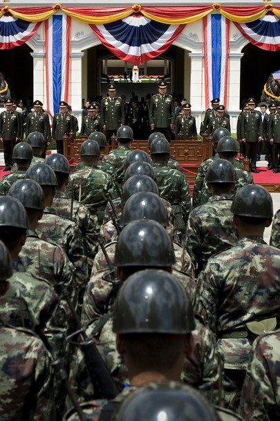Newly appointed Thai army chief General