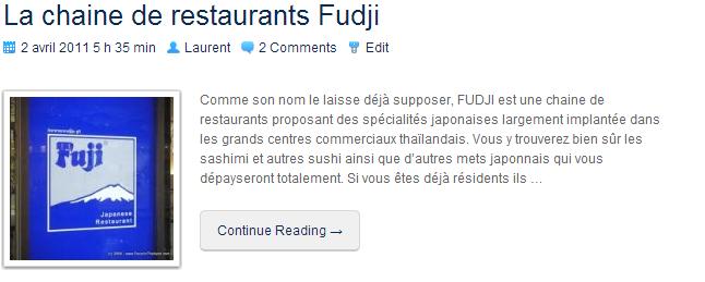 LaChaineDeRestaurantsFudji