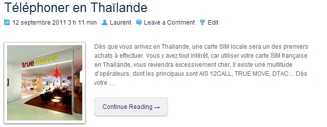 TéléphonerEnThaïlande