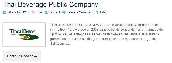 ThaiBeverage