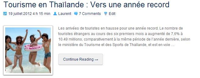 TourismeThailande