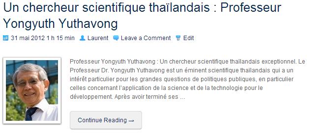 YongyuthYuthavong