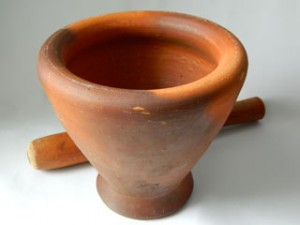 Thai Mortar and Pestle (Krok)
