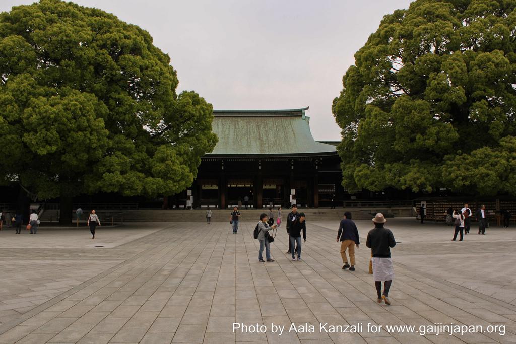 le sanctuaire Meiji +á Yoyogi Park