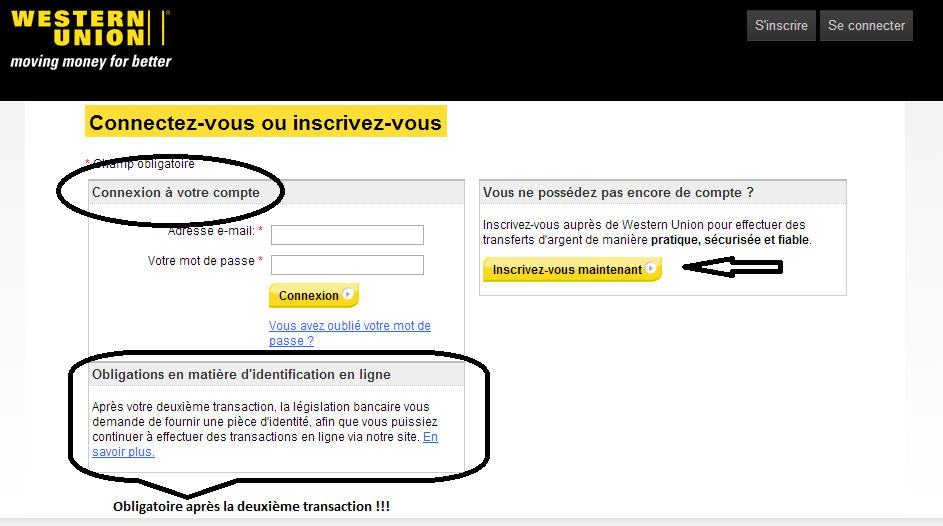 comment marche western union
