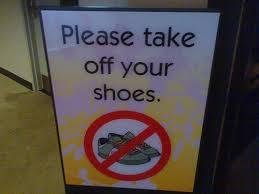 ChaussuresInterdiets