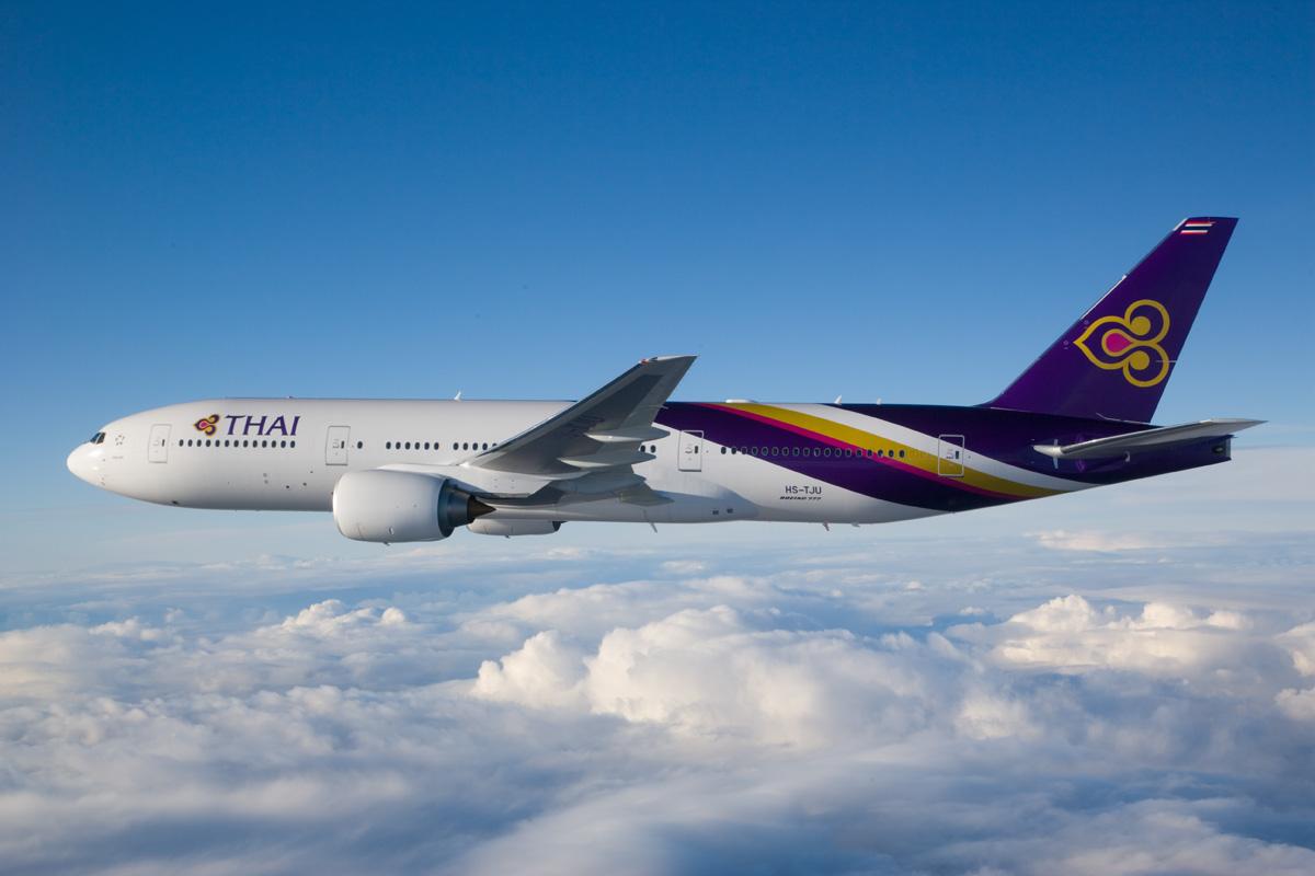 """Thai Airways International Boeing 777-2D7ER """"Phichit"""""""
