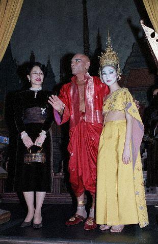 Yul Brener, Wife W/Queen Of Thailand