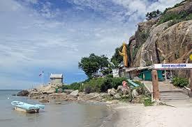 La plage d'Hua Hin