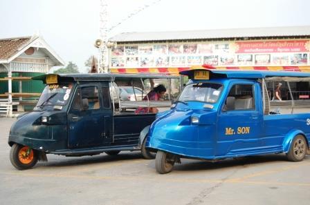 Tuk tuk d'Ayutthaya