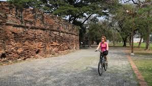 Promenade à vélo à Ayutthaya
