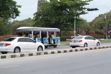 Bus touristique d'Ayutthaya