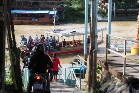 Ferry à Ayutthaya