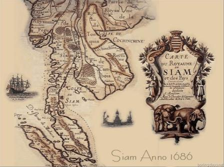 Carte de Siam