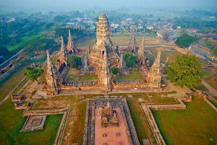 Parc historique d'Ayutthaya, Wat Chai Wattanaram