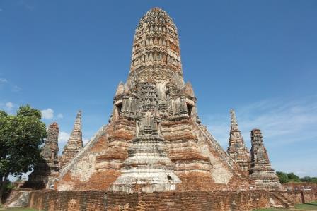 Prang du Wat Chai Watthanaram