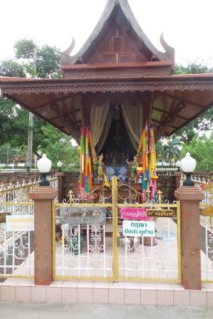 Le temple de Chao Pho Sittichai