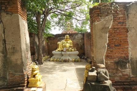 Vihara avec un «Happy Buddha»