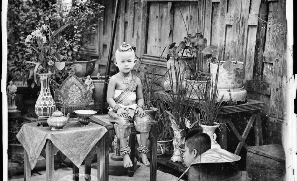 JOHN THOMSON PHOTO SIAM 02 PORTRAIT PRINCESSE