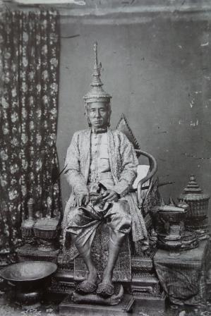 Le Roi Mongkut photographié par John Thomson