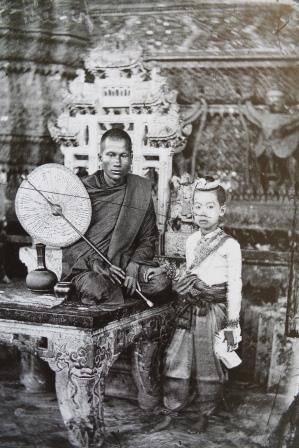 JOHN THOMSON PHOTO SIAM 43 MONK